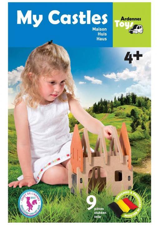 Joc de constructie Casa din Sat–