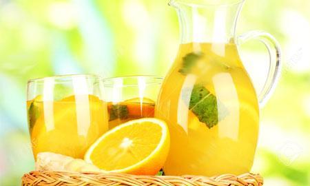 Limonada de portocale